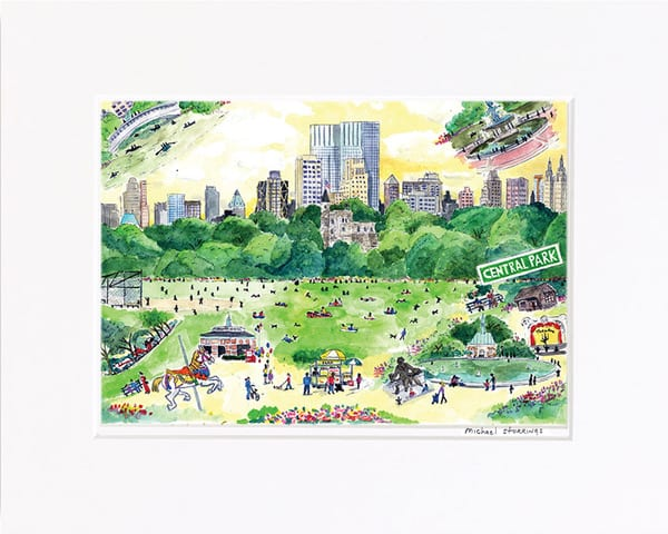 Central Park Spring Print